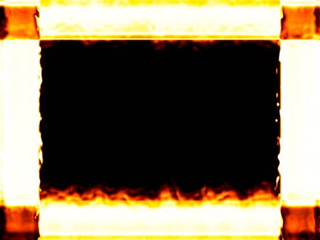 Fiery framework Stock Photo - 11126921