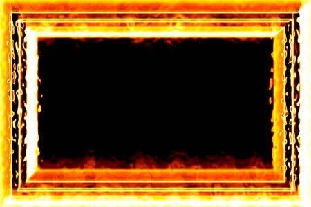 Fiery framework Stock Photo - 11126995