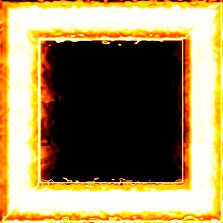 Fiery framework photo