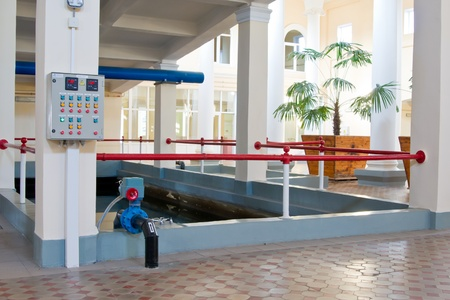 Technical pool for water treating Stock Photo - 11867617