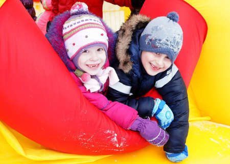 24 02 2012 Moscow. Childrens street holiday in pancake week Stock Photo - 12817610