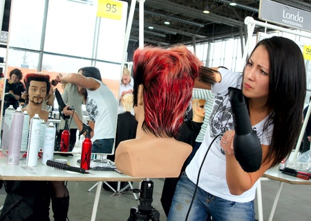 The XV Championship of Moscow on hairdressers art, decorative cosmetics, modeling and design of nails