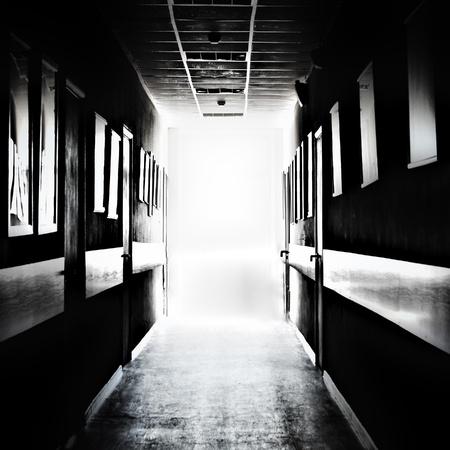 Dark corridor  photo