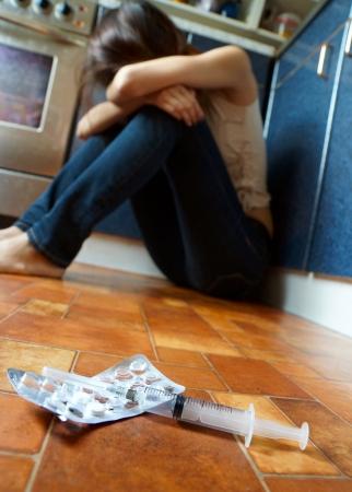 recetas medicas: la imagen conceptual sobre el tema de la adicción a las drogas