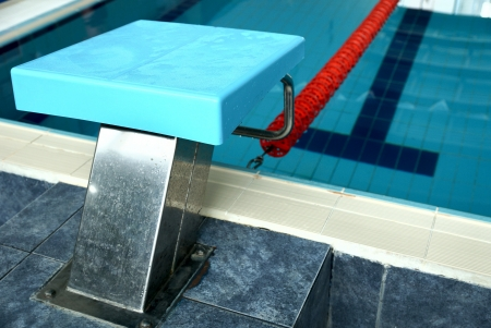 center table: photo of the sports swimming pool