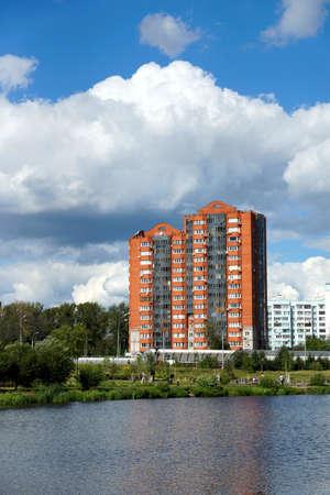 23 07 2012 Russia, Mytischi. Yauza River Embankment. Stock Photo - 15670526