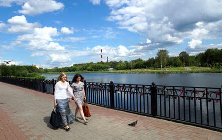 23 07 2012 Russia, Mytischi. Yauza River Embankment. Stock Photo - 15670490