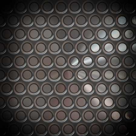 clean metal diamond plate , seamlessly tillable Stock Photo - 18517596