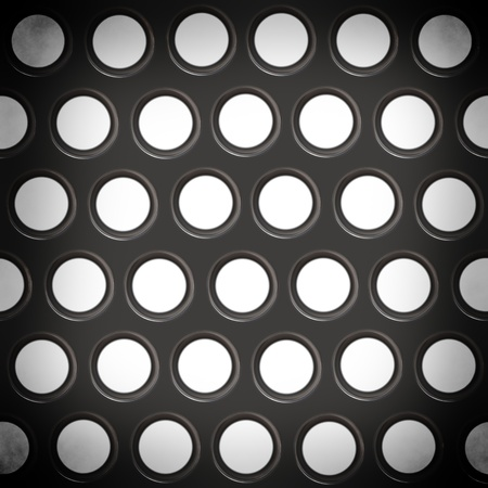 Metal texture with holes Stock Photo - 18517561