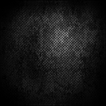 The abstract metal surface darkened at the edges Stock Photo - 18518457
