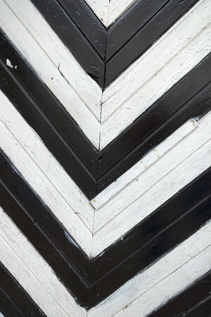 black a white wooden wall photo