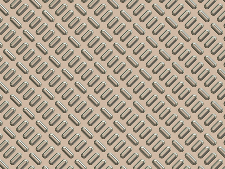 metal surface: Shiny metal surface texture with protuberances in the form of ellipses.