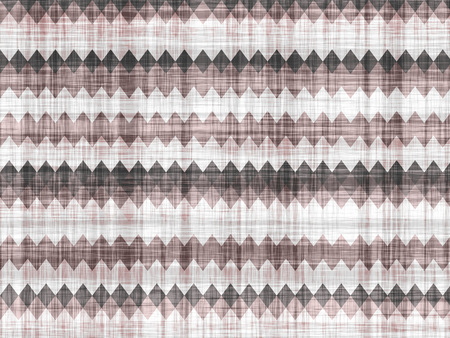 toothed: Toothed geometric pattern on a simulated simple fabric. Stock Photo