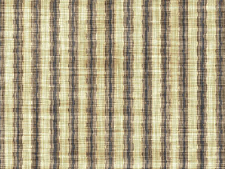 coarse: Brown coarse fabric with vertical artistic pattern. Stock Photo