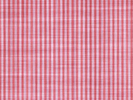 tela algodon: rayas blancas rojas aplicado sobre un paño de algodón, fondo artístico