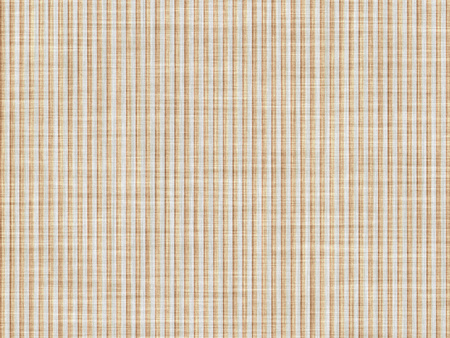 tela algodon: rayas amarillas y blancas en un contexto fino paño de algodón.
