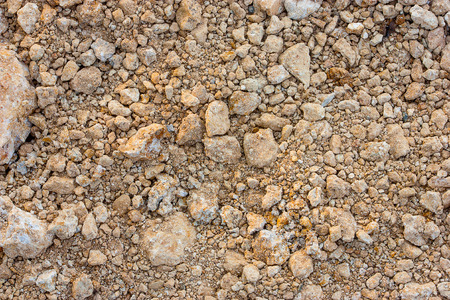 clod: Light brown clay, clay lumps little big.