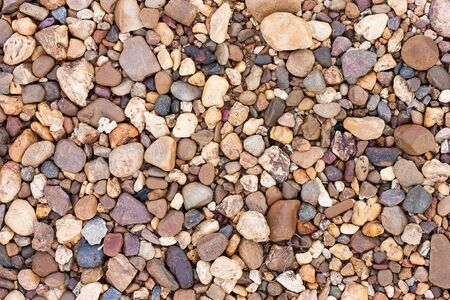 river rocks: Close up of the surface of river rocks.