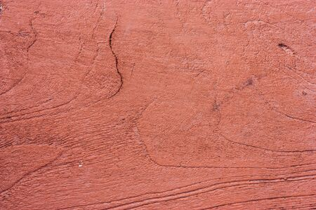 materia: Rough old rustic red wooden background with cracks. Grunge style. Stock Photo