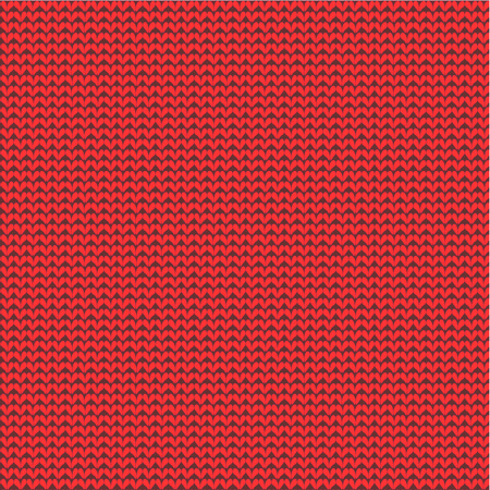 fabric textures: Christmas red background with knit texture, plus seamless pattern included in swatch palette  pattern fill expanded