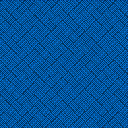 weaved: Blue weaved geometric background, plus seamless pattern included in swatch palette