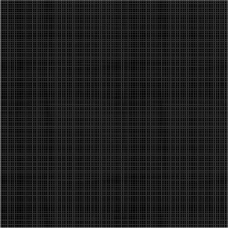 Naadloze zie je 4 tegels zwarte stof textuur Flat gebruikte kleuren, de horizontale en verticale draden worden nauwkeurig afgestemd op hun uiteinden
