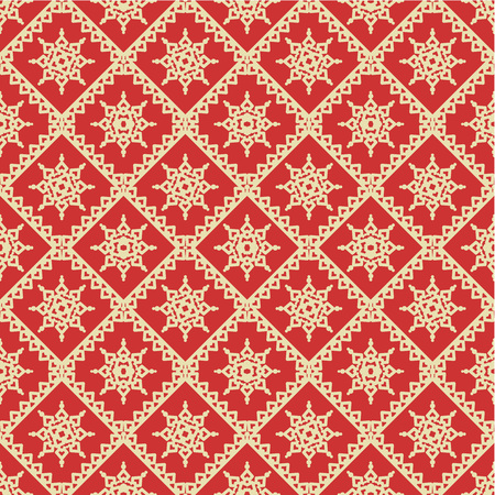 gold textures: Seamless  repeatable, you see 4 tiles  red and gold Christmas or other holiday background  pattern, wallpaper, swatch, print  Illustration