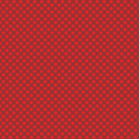 weaved: Seamless (easy to repeat) abstract weaved background (texture, pattern, tile, swatch, wallpaper, print) of red Christmas colors Illustration