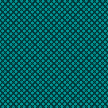 weaved: Seamless (easy to repeat) abstract weaved background (texture, pattern, tile, swatch, wallpaper, print) of green blue or dark turquoise trendy winter holidays Christmas colors