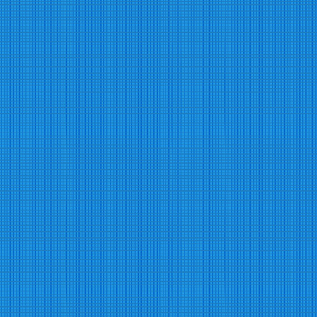 repeatable: Seamless (you see 4 tiles) blue fabric texture. Flat colors used, horizontal and vertical threads are accurately matched on their ends.