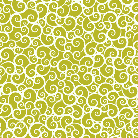 gold swirls: Seamless repeatable tan and gold swirls pattern background, wallpaper, print, swatch, texture