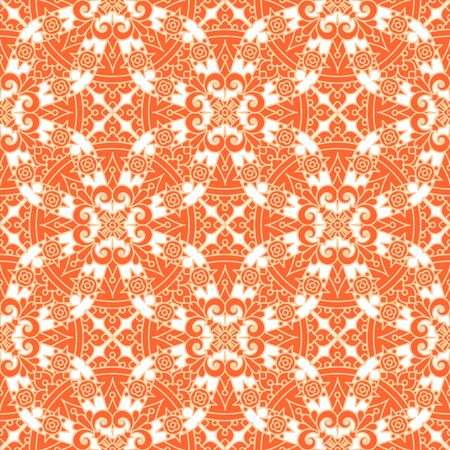 tilable: Seamless (repeatable, you see 4 tiles) highly detailed elegant pattern, print, swatch, wallpaper, or background