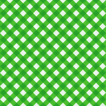 geen: Seamless (you see 4 tiles) natural geen colors diagonal gingham fabric cloth, pattern, swatch, background, texture or wallpaper.