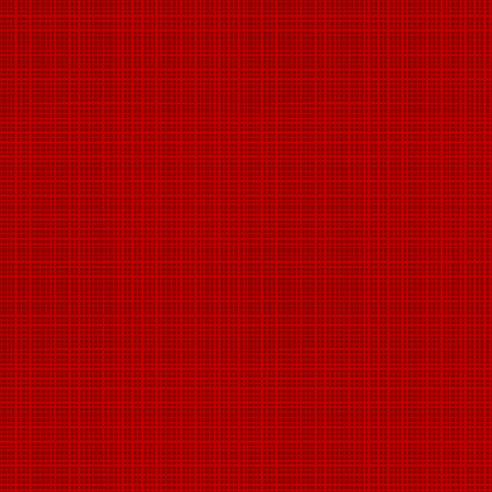 Easy tilable (you see 4 tiles) red canvas or fabric repeat pattern, or seamless background. Flat colors used, horizontal and vertical threads are accurately matched on the ends.