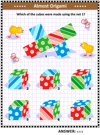 IQ training visual math puzzle (suitable both for kids and adults)