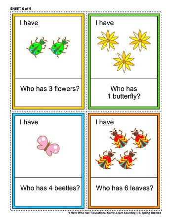 Educational math game concept illustration.