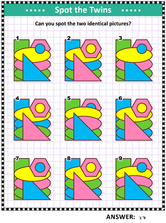 basic,shapes,math,same,identical,game,puzzle,visual,logic,riddle,picture,rectangle,triangle,ovals,ellipse,hexagon,circle,mathematics,play,learn,learning,shape,grade,primary,homeschooling,colorful,colourful,puzzles,spot,find,games,quiz,fun,leisure,riddles,educational,school,brainteaser,kids,children,adult,adults,educational,sheet,worksheet,page,worksheets,illustration,vector