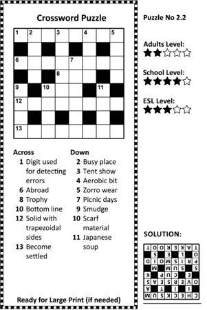 Kreuzworträtsel. Raster, Hinweise und Lösung. Klassisch, schnell, familienfreundlich. Leichter bis mittlerer Schwierigkeitsgrad.