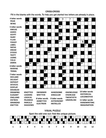 Puzzle page with 19x19 criss-cross (fill-in) crossword word game (English language) and visual puzzle with cats: Spot the odd one out: find the unique picture.