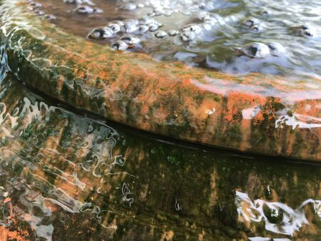 water overflow from earthenware
