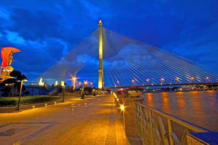 viii: RAMA VIII Bridge,Bangkok,Thailand