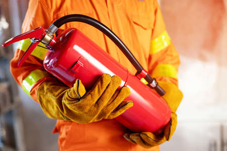 Fire extinguishers for protection fire at high-rise buildings