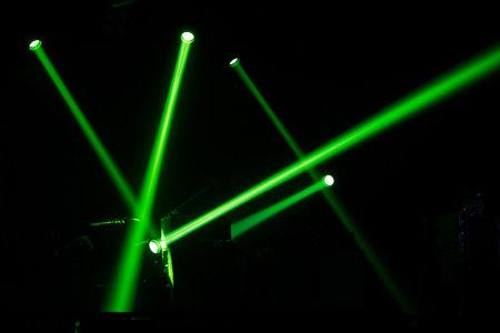 Light and sound concert Фото со стока