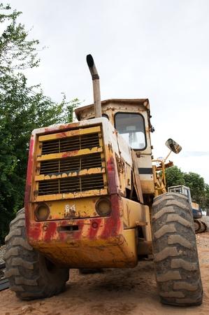 old car scoop soil Stock Photo - 9782315