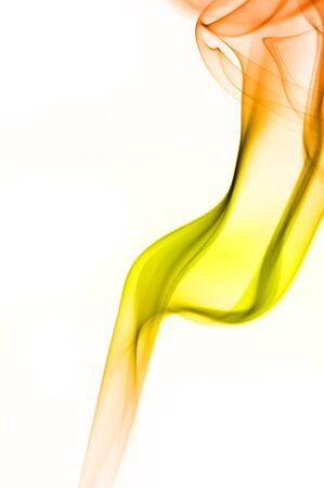 humo: el humo de colores abstractos