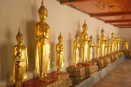 image of buddha statue at Wat Pho Bangkok Thailand photo