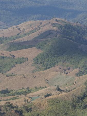 rural areas: Rural areas, Nan, Thailand (vertical)