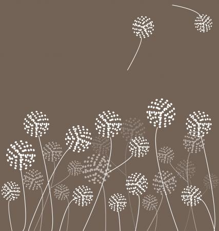 Dandelions Vector Фото со стока - 24155211