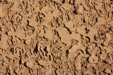 mud wall: Soil wall texture background