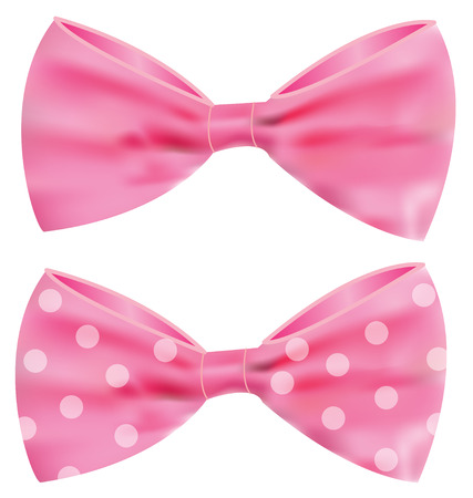 pink bow: Pink ribbon with gorgeous bow